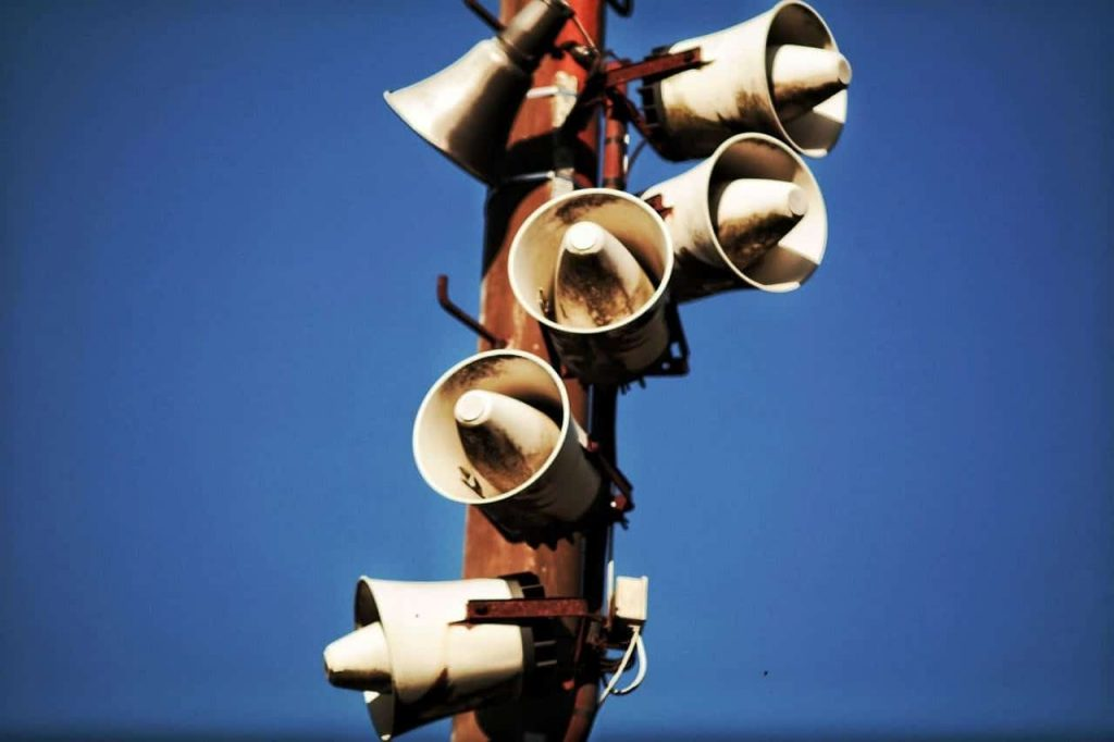 Coaxial drivers loudspeaker